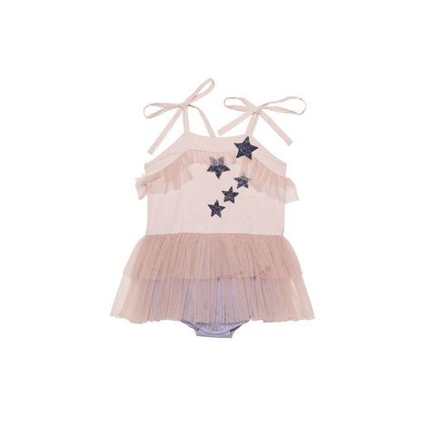 Hubble + Duke Vintage Smock Top - Blush