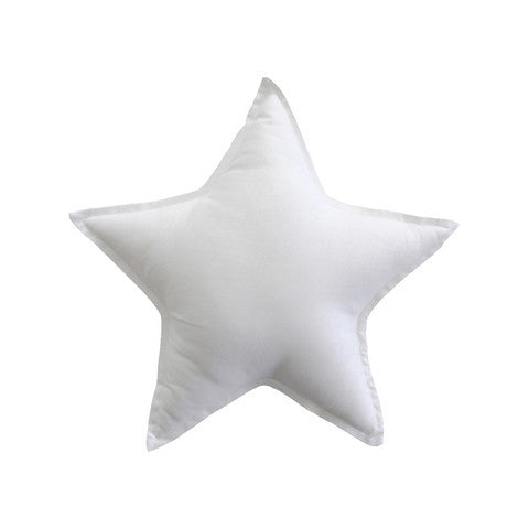 Essi + Co White Star Cushion
