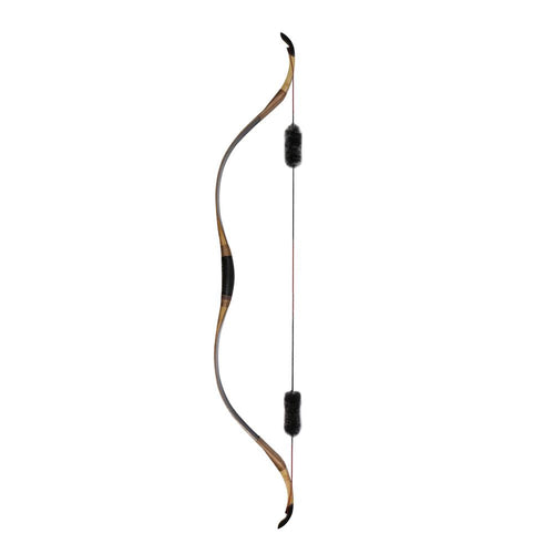 Black Laminated Traditional Recurve Bow