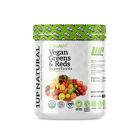 Organic Vegan Greens & Reds Superfoods 300g