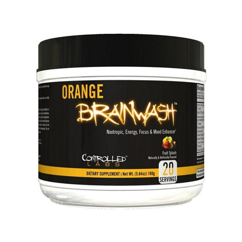 Orange Brainwash 160g Green Apple