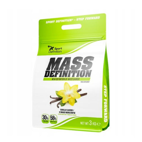 Mass Definition 3kg High Protein Mass Gainer