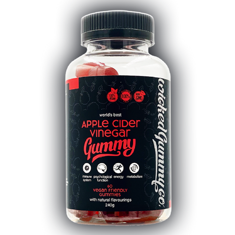 Apple Cider Vinegar Gummy 60 Vegan Gummies