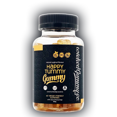 Happy Tummy Probiotic Gummy 60 Vegan Gummies