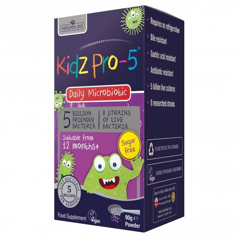 Kidz Pro-5 (5 Billion Bacteria) 90g Powder