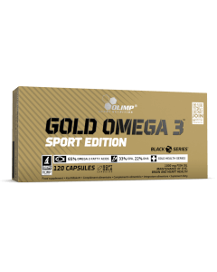 Gold Omega 3 Sport Edition 120 Capsules