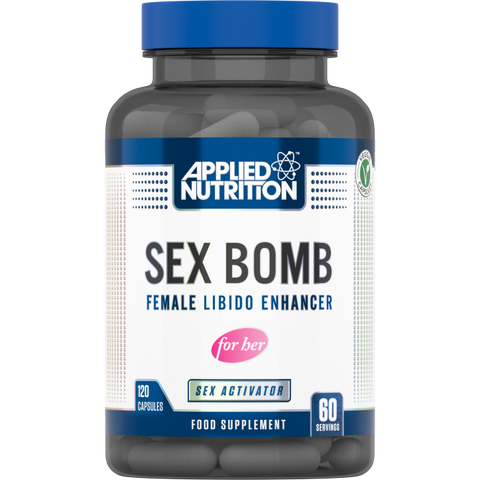 Sex Bomb for Her 120 Capsules Female Libido Enhancer