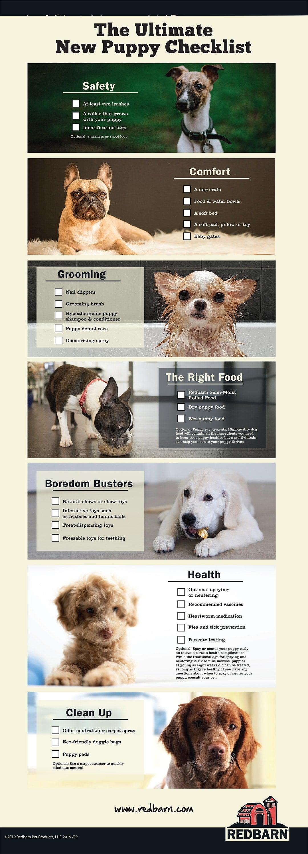 Puppy Proofing 101 The Ultimate New Puppy Checklist for New Dog Owners by Redbarn