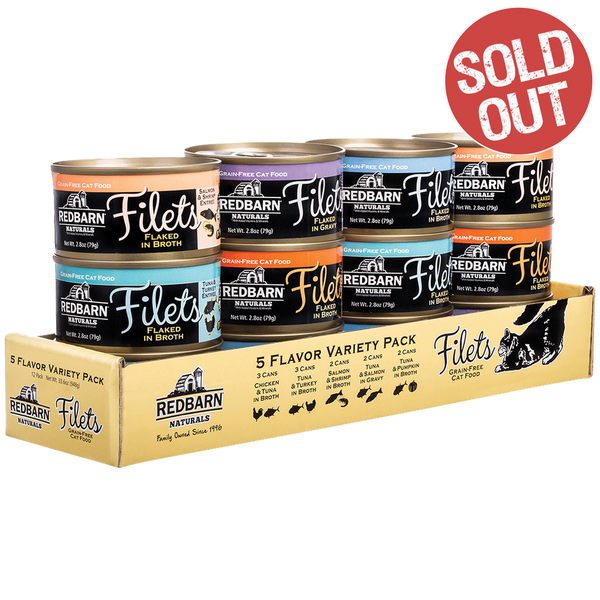 Filets Flaked in Broth Variety Pack- Redbarn