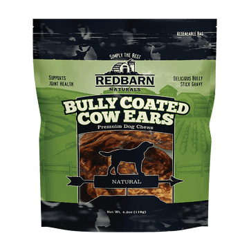 Bully Coated Cow Ears
