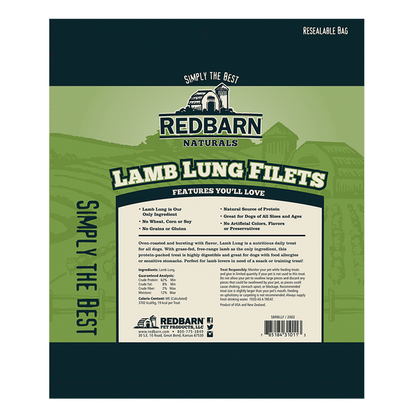 Lamb Lung Filets- Redbarn