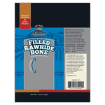 Filled Rawhide Bone Peanut Butter & Jelly Flavor- Redbarn