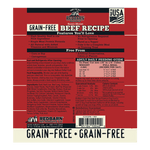Grain-Free Beef Recipe Rolled Food- Redbarn