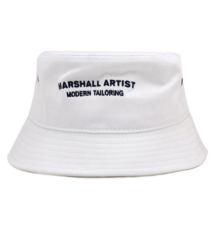 MARSHALL ARTIST BUCKET HAT WHITE