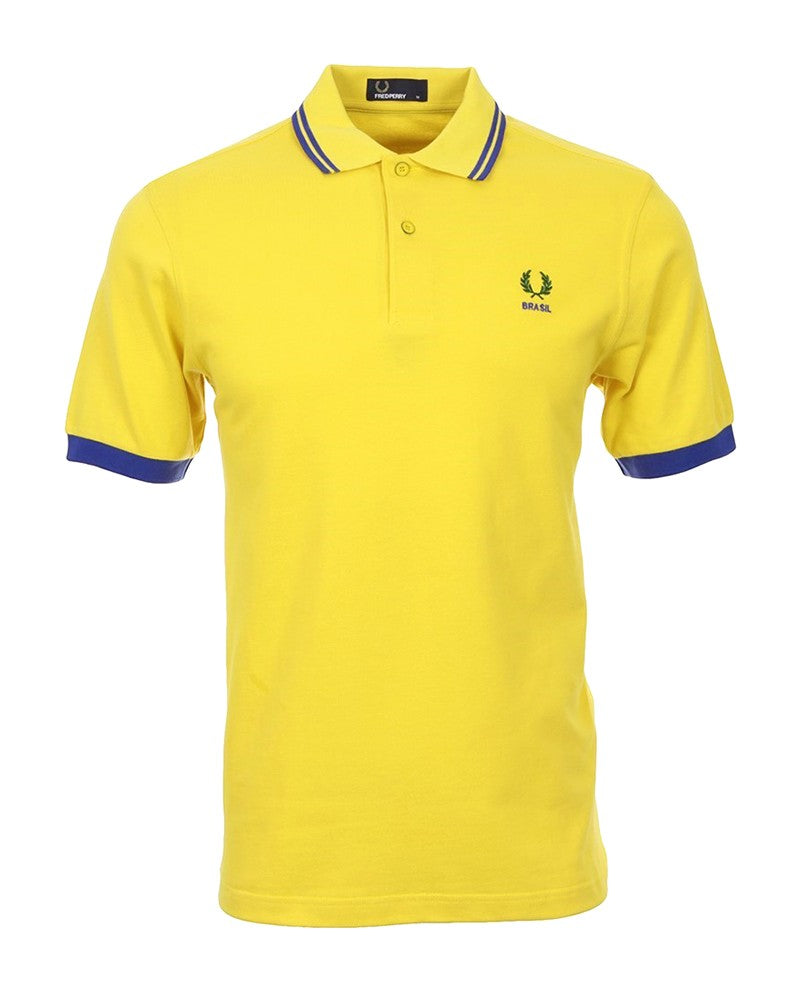 FRED PERRY COUNTRY SHIRT BRASIL POLO