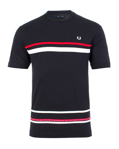 FRED PERRY MICRO TAPED T-SHIRT