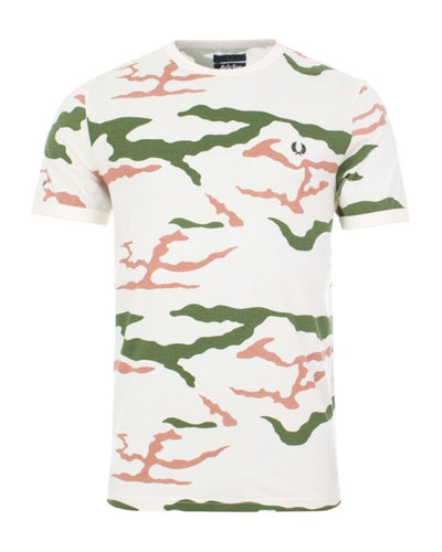 FRED PERRY x ARKTIS CAMO T-SHIRT