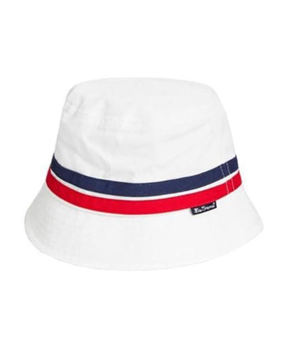BEN SHERMAN COOPER CORE BUCKET HAT WHITE