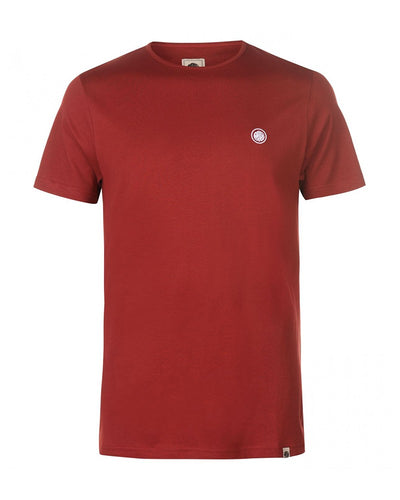 PRETTY GREEN COTTON RED T-SHIRT