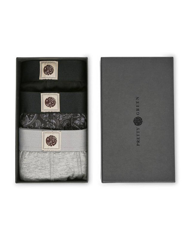 PRETTY GREEN 3-PAK BOKSERKI GIFT SET
