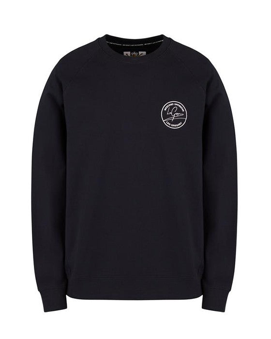 WEEKEND OFFENDER LG SIGNATURE SWEAT NAVY BLUZA