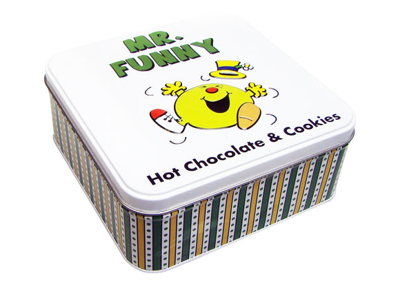 Mr Funny Hot Chocolate & Biscuits Tin