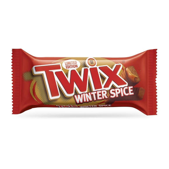 Twix Winter Spice Chocolate Biscuit Twin Bars