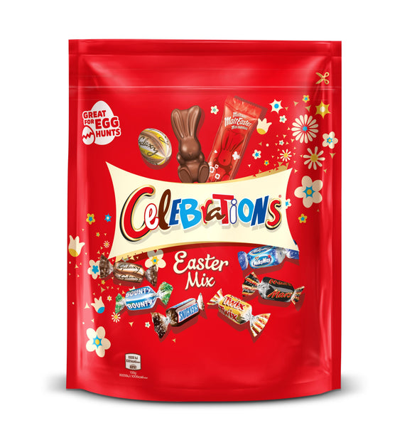 Celebrations Easter Mix Sharing Pouch 400g