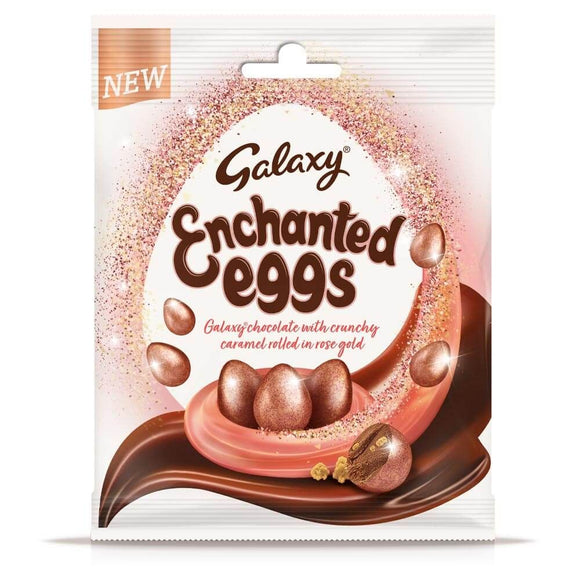 Galaxy Enchanted Eggs Chocolate Easter Treat Bags 80g