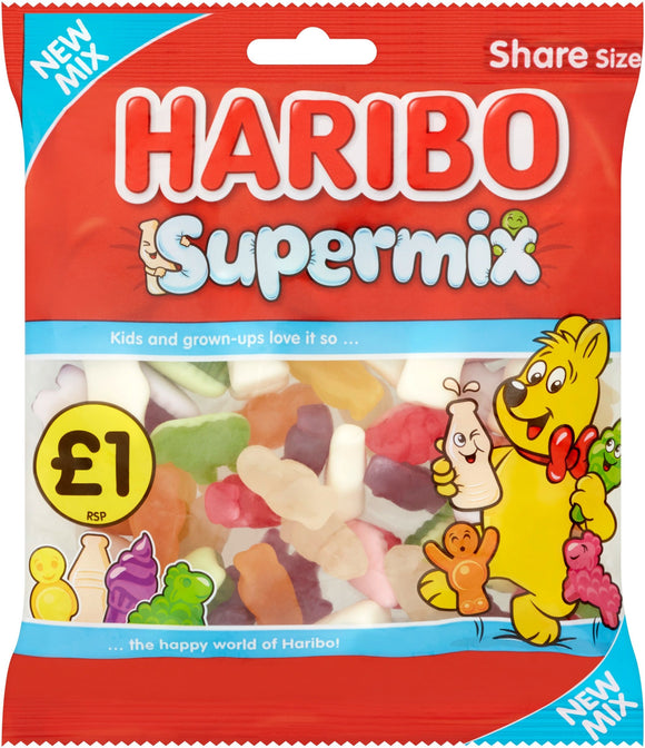 Haribo Supermix Share Bags