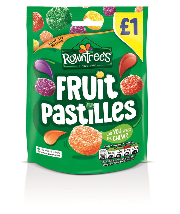 Rowntree's Fruit Pastilles Pouch