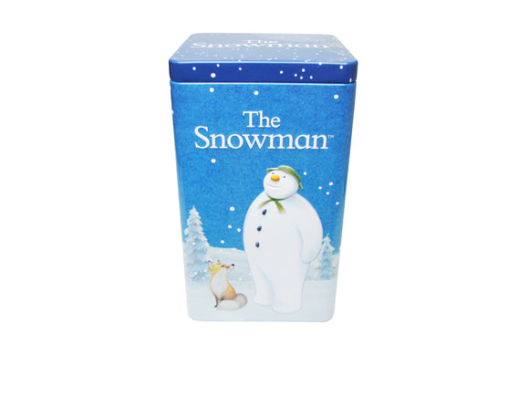 The Snowman Hot Chocolate & Ginger Biscuits Tin
