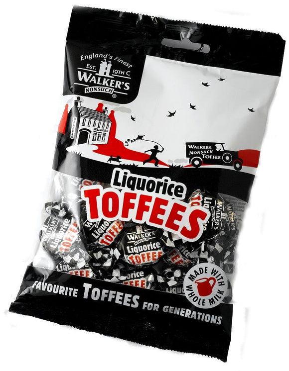 Walker's Nonsuch Liquorice Toffee Bags