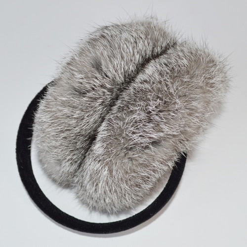 New Style Winter Women Warm Soft Real Rabbit Fur