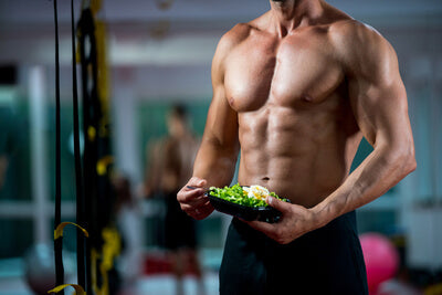 Build muscle with pea protein