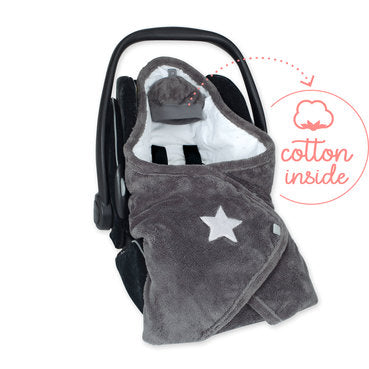 Bemini BISIDE 0-12m gris foncé softy jersey 492STARY94SF