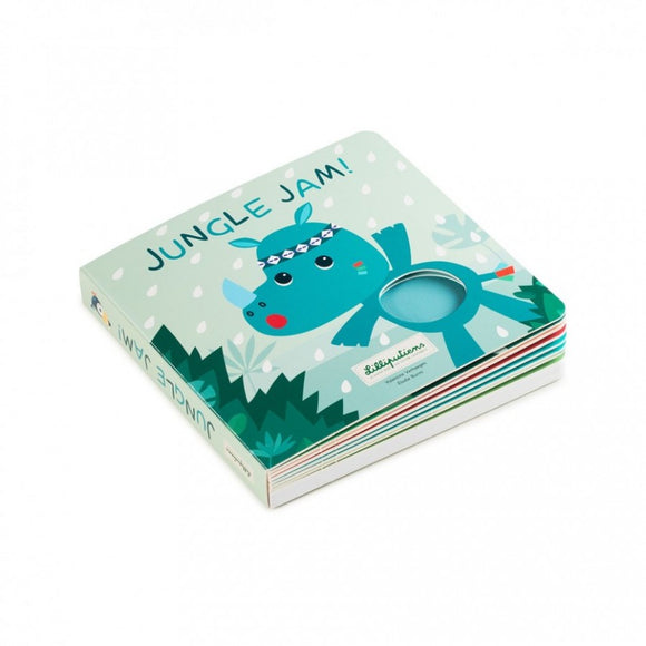Lilliputiens JUNGLE JAM Livre tactile et sonore 83153