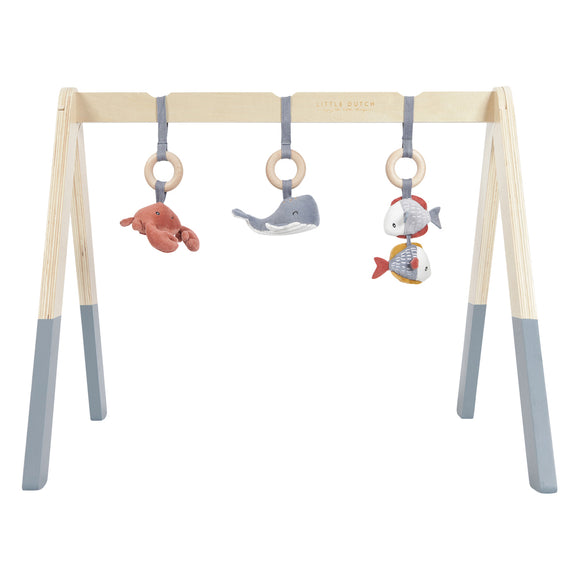 Little Dutch Arche d'éveil en bois Ocean Blue LD4834