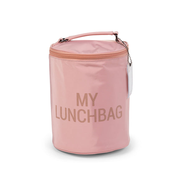 Childhome My lunchbag avec doublure isolante Rose/Cuivre CWMLBPC