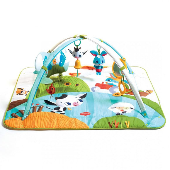 Tiny Love Tapis d'éveil Gymini Kick & Play Tiny Farm 3333120661