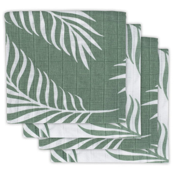 Jollein Couche hydrophile small 70x70cm Nature ash green (4 pc) 535-851-65313