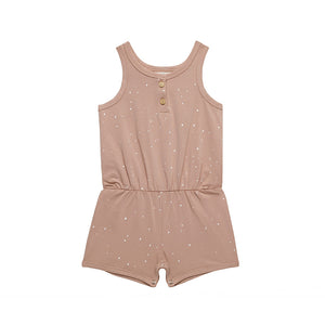Little Indians Jumpsuit Short Dots Tuscany  JS21008U