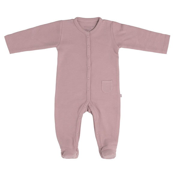 Baby's Only pyjama avec pieds Pure vieux rose
