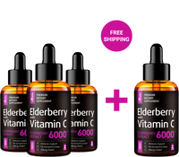 Elderberry Syrup - Buy 3 Get 1 Free