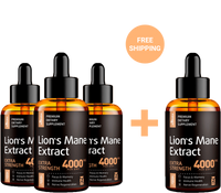 Lion's Mane Extract - Buy 3 Get 1 Free
