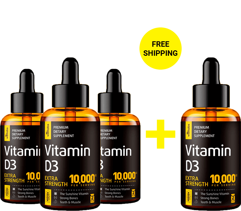 vitamin d3 buy 3 and get 1 free