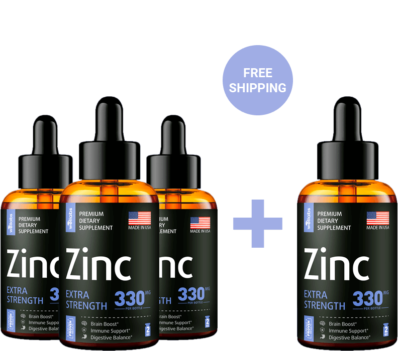 zinc buy 3 and get 1 free