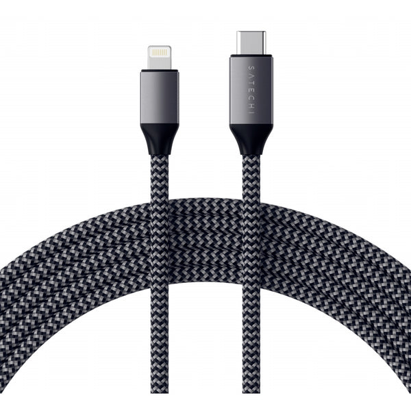 Satechi Type-C to Lightning Cable 1,8 m space gray - iStore