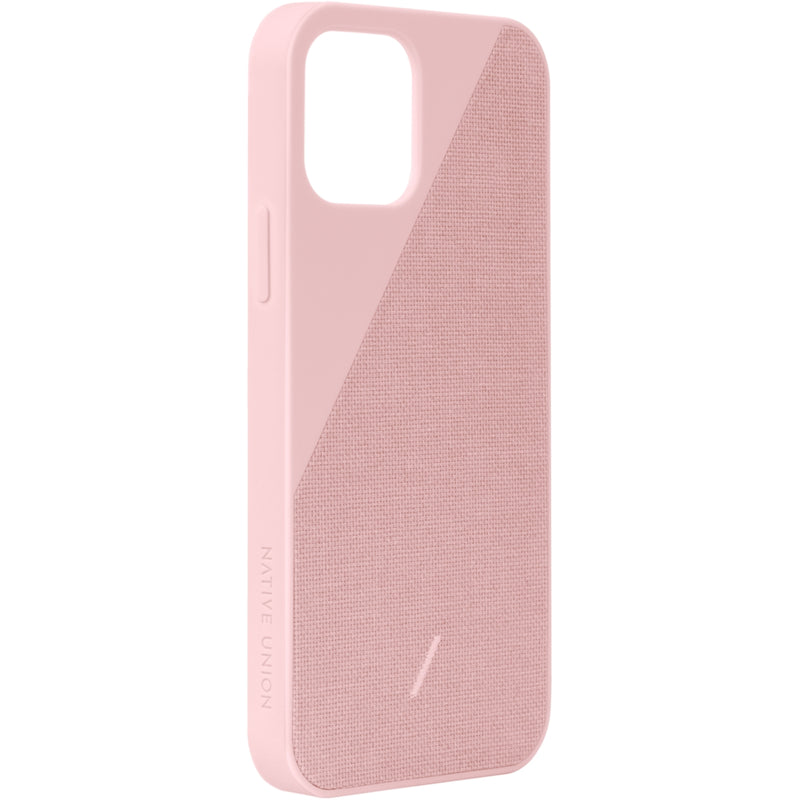 Native Union Clic Canvas Case iPhone 12 Pro Max Rose - iStore