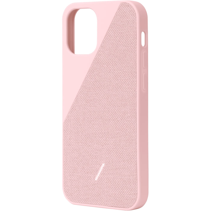 Clic Canvas Case iPhone 12/12 Pro Rose - iStore